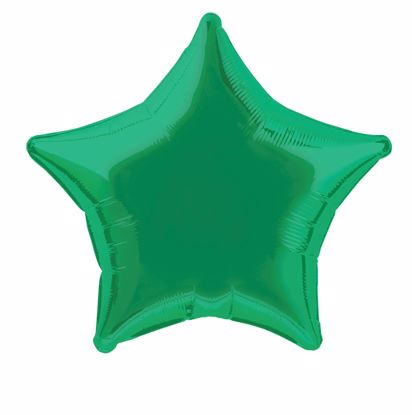 Picture of Green Star Balloons