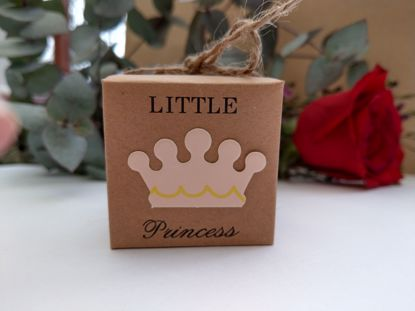 Picture of Kraft Little Princess Favor Boxes Crown