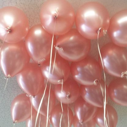 Picture of Rose Gold Balloons 11""