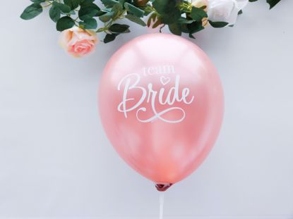 Picture of Rose Gold Balloons Bride To Be