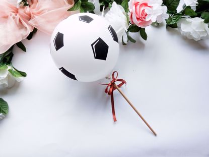 Picture of Balloon Cake Topper  Football