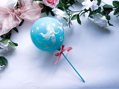 Picture of Balloon Cake Topper Mermaid