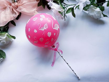 Picture of Balloon Cake Topper Flamingo
