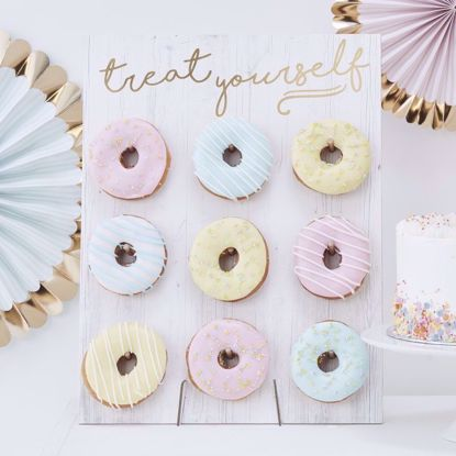 Picture of TREAT YOURSELF DONUT WALL - PICK & MIX