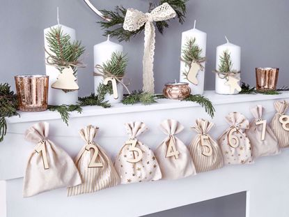 Picture of Advent calendar Bags, mix