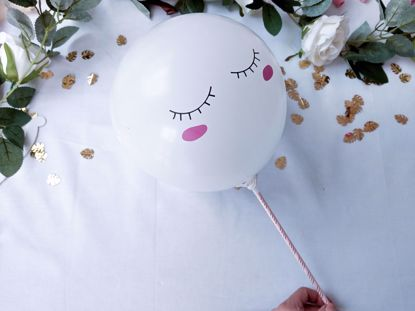Picture of Balloon Cake Topper Magical Unicorn Princess