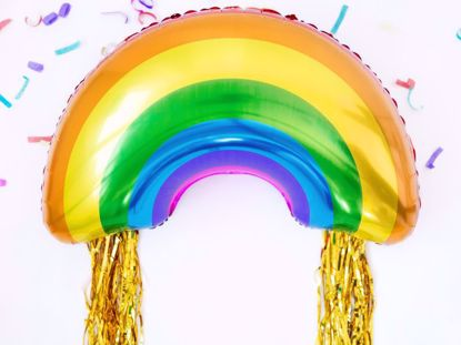 Picture of Rainbow Balloon Kids Party Decorations