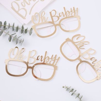 Picture of Oh Baby Shower fun Glasses