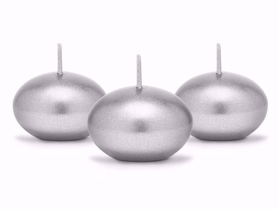 Picture of Silver Floating Candles
