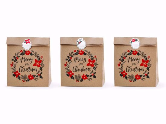 Picture of Merry Christmas Gift Bags