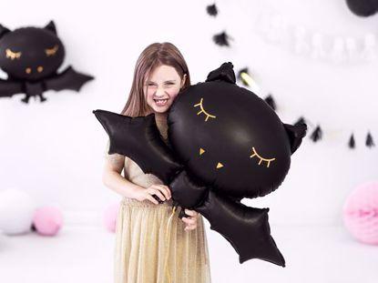 Picture of BAT BLACK FOIL HALLOWEEN BALLOON